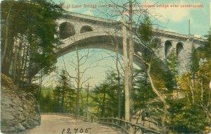 Walnut Lane Bridge Over Drive, Philadelphia, Pennsylvania 1911 Postcard