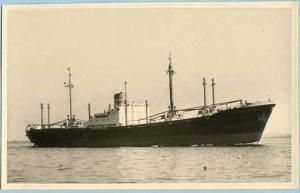 Cargo Ship - Brauchenstein   *RPPC