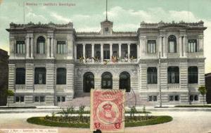 mexico, MEXICO, Instituto Geológico (1923) Postcard