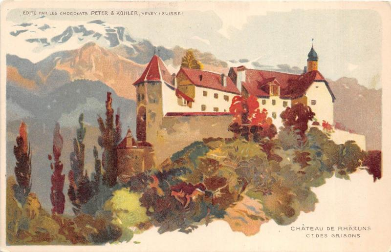 BR36626 Chateau de Rhazuns Ctdes Grisons      Switzerland