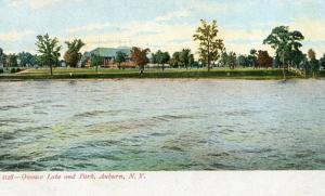 NY - Auburn. Owasco Lake and Park