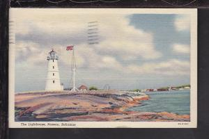 Lighthouse,Nassau,Bahamas Postcard