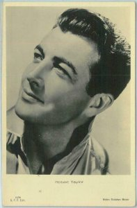 95745 - VINTAGE POSTCARD - CINEMA, Actors : ROBERT TAYLOR