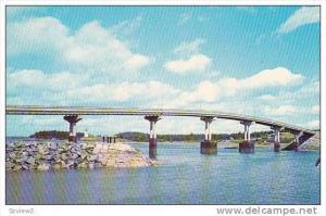 Franklin D. Roosevelt Bridge, Connects Lubec, Maine and Campobello Island, Ne...