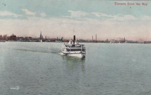 TORONTO, Ontario, Canada, 1900-10s ; From the bay , Steamship