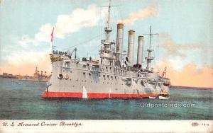 Military Battleship Postcard, Old Vintage Antique Military Ship Post Card US ...