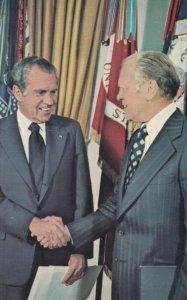 President Nixon & V.P. Gerald Ford , Washington D.C. , 1974