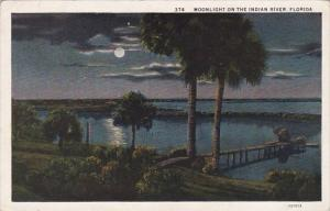 Florida Moonlight On The Indian River
