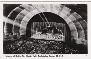 RP; Interior of Radio City Music Hall, Rockefeller Center, NEW YORK CITY, New...