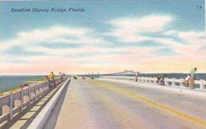 Florida Sunshine Skyway Bridge 1965