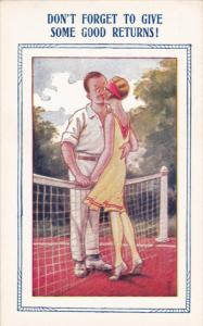 Romance Couple ; Tennis ; Don't Forget to give some Good Returns! , 30-40s