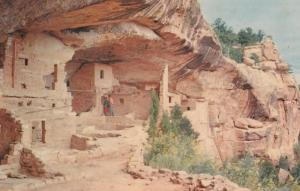 MESA VERDE, Colorado, 1940-60s; Balcony House Ruins, Mesa Verde National Park