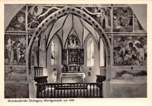Streichenkirche (Chiemgau) Wandegemaelde um 1450 Church Interior