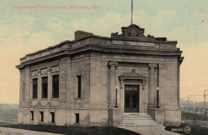 Marinette , Wisconsin , 00-10s ; Stephenson Public Library