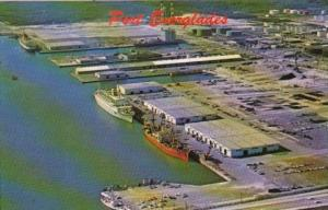 Florida Fort Lauderdale Aerial View Port Everglades