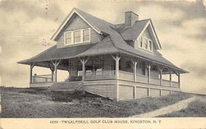 Twaalfskill Golf Club House Kingston, New York Postcard