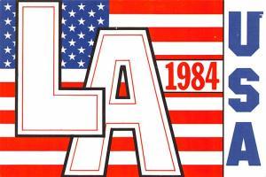 Los Angeles 1984 Olympics - California