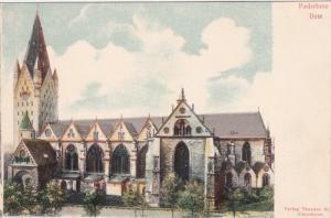 PADERBORN, North Rine-Westphalia, Germany, 1900-1910s; Paderborn Dom