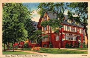 Michigan Grand Rapids Furniture Museum 1948 Curteich