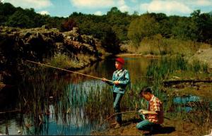 Fishing The Stream Mississippi 1957