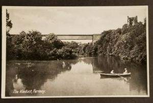 Mint Vintage Ireland The Viaduct Fermoy County Cork Real Picture Postcard