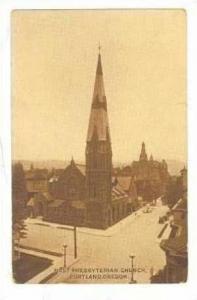 First Presbyterian Church, Portland, Oregon, PU-1912