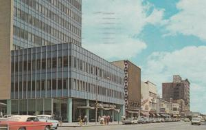 PEORIA , Illinois, PU-1965 ; Adams Street, Store fronts