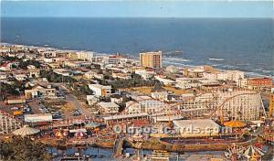 Myrtle Beach, South Carolina, SC, USA Postcard Aerial of Exciting 1977