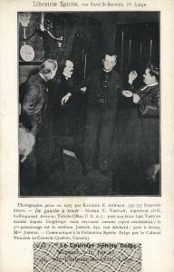 Ghost Photograph, Librairie Spirite, Le Courrier Spirits Belge (1910s) VIII