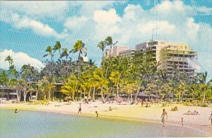 Hilton Hawaiian Village Waikiki Honolulu Hawaii 1962