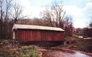 Kent's Run Covered Bridge - Perry County, Ohio