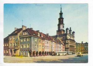 RP  POZNAN, Poland, Pu-1969, Fragment Starego Rynku