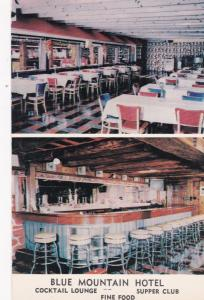 HARRISBURG, Pennsylvania 50-60s Blue Mountain Hotel and Skeet Club