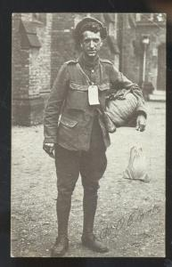 WWI WORLD WAR 1 SOLDIER O'CONNOR VINTAGE POSTCARD