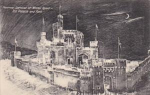 Canada Montreal Carnival Of Winter Sport Ice Palace and Fort 1909