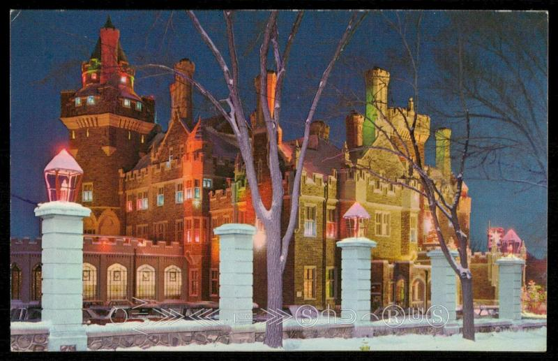 Casa Loma in Winter