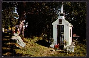 Smallest Church in the World,Wisconet,Maine