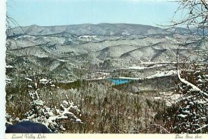 Postcard Tennessee Aerial View Laurel Lake Youth Camp Golf Course Rick   # 3009A