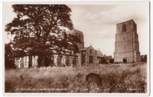Norfolk; St Nicholas Church, Dereham No 218064 RP PPC By Valentines, Unposted