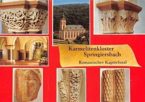 Karmelitenkloster Springiersbach Romanischer Kapitelsaal Bengel Mosel