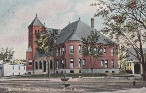 LACONIA, New Hampshire, 1900-1910's; Belknap County Court House