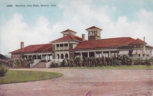 DENVER, Colorado, 1900-10s; Pavilion, City Park