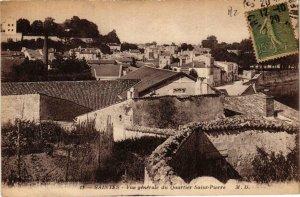 CPA Saintes. Vue générale du Quartier Sainte Pierre. (667103)