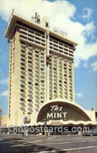The Mint, Las Vegas, NV, USA Motel Hotel Postcard Post Card Old Vintage Antiq...