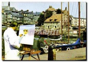 Modern Postcard Normandy France Honfleur
