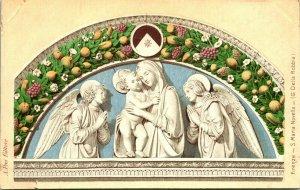 Firenze Florence Italy S Maria Novella - G. Della Robia - A. Pini Pub Religious