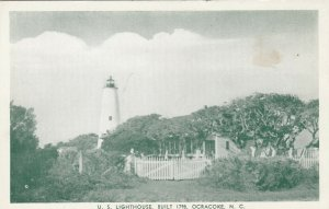 OCRACOKE , NC, 1920-30s ; lIGHTHOUSE