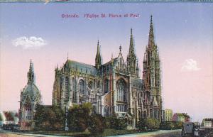 Belgium Ostende l'Eglise St Pierre et Paul
