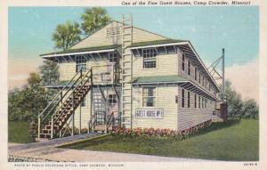 Missouri Camp Crowder Guest House No 1 Curteich