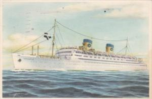 Home Line S S Atlantic 1954